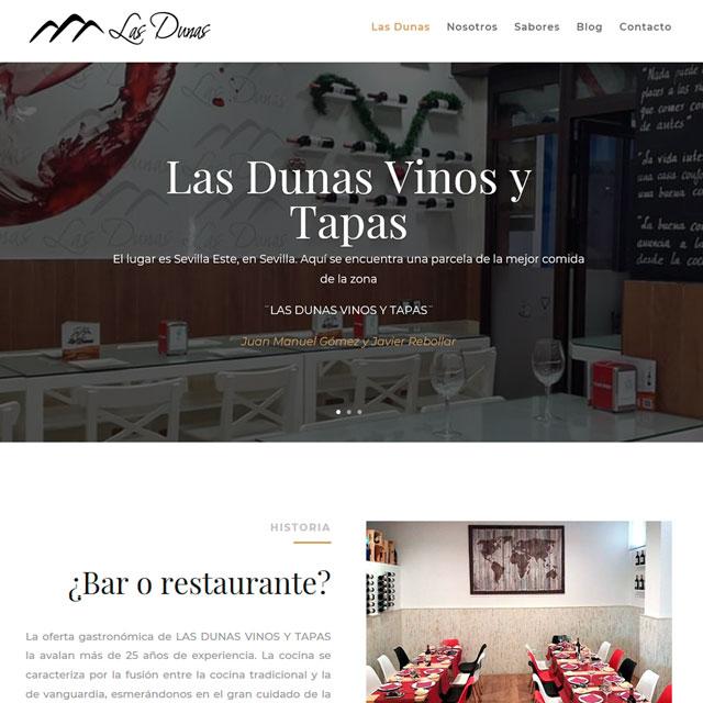 Las Dunas Vinos y Tapas en Sevilla