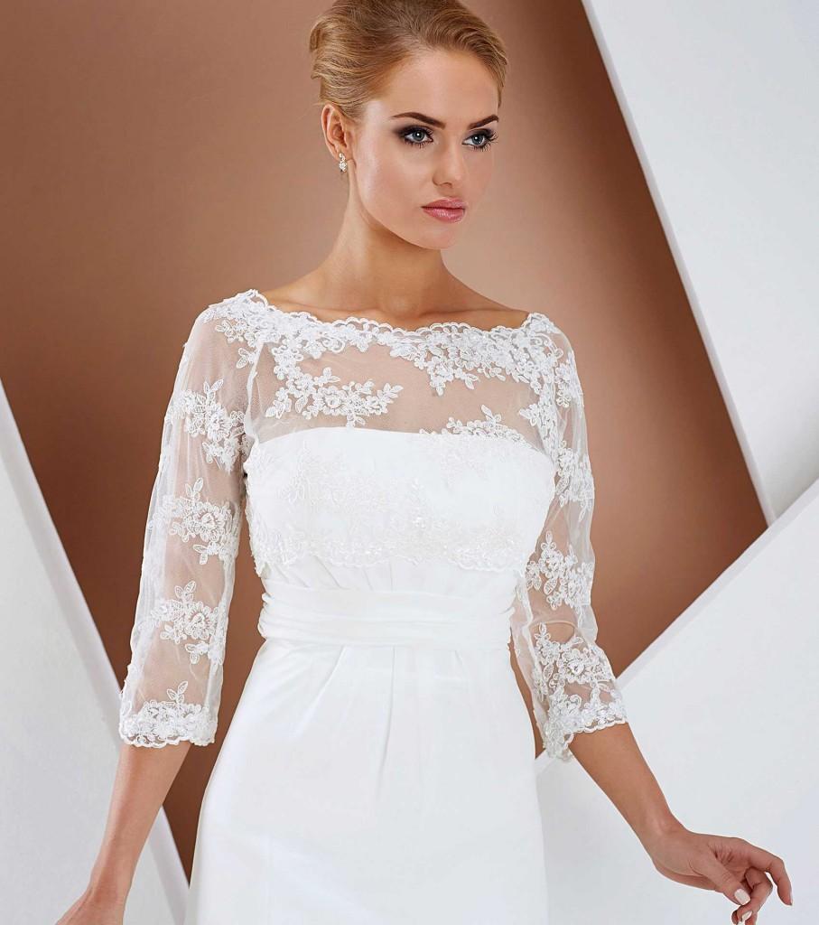 Bolero Hochzeitskleid Brautkleid Abendmode Siegburg