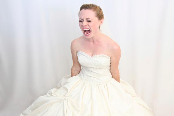 novia con ansiedad