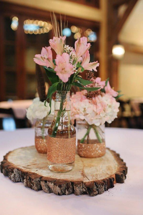 Centros de mesa para bodas 2019  de 100 fotos e ideas