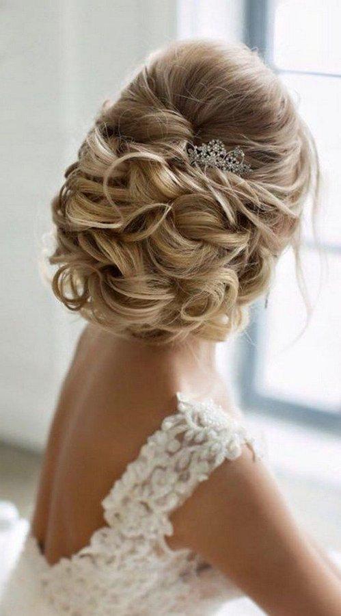 Peinados de novia recogidos 2019 2018 tendencias y 90