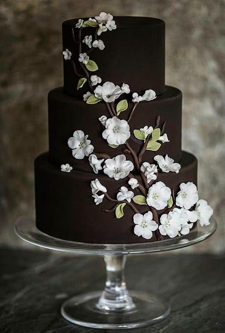 Pasteles de boda 2019  de 130 fotos y tendencias