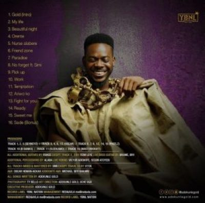 Adekunle-Gold-GOLD-Album-Tracklist