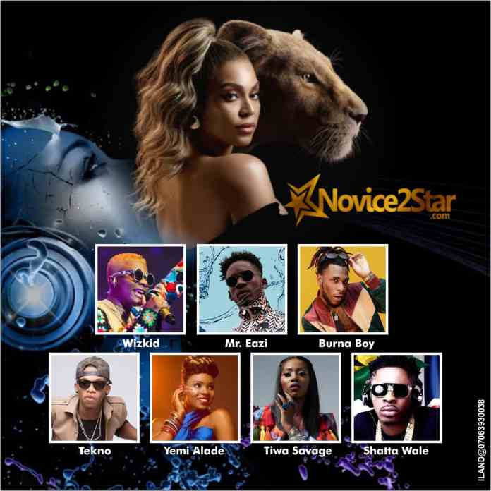 Image result for pictures of Nigerian artists on Beyonce's album