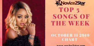 Top 5 Nigerian Songs Of The Week – October 11 2019 Chart