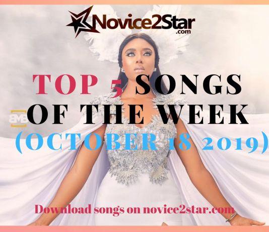 Top 5 Nigerian Songs Of The Week – October 18 2019 Chart