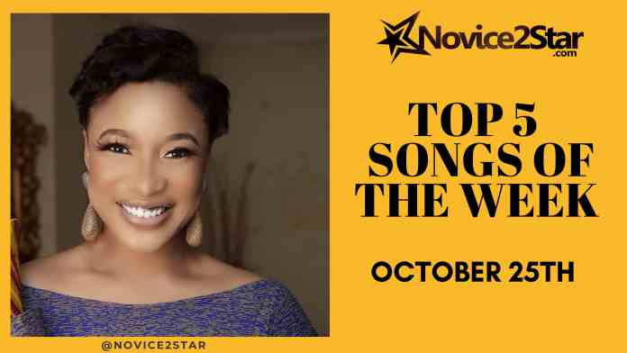 Top 5 Nigerian Songs Of The Week – October 25 2019 Chart