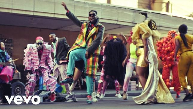 Patoranking ft Busiswa - 'Open Fire' Video