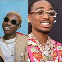 Zlatan Ibile and Davido Links Up With American Rapper Quavo  (SEE VIDEO)