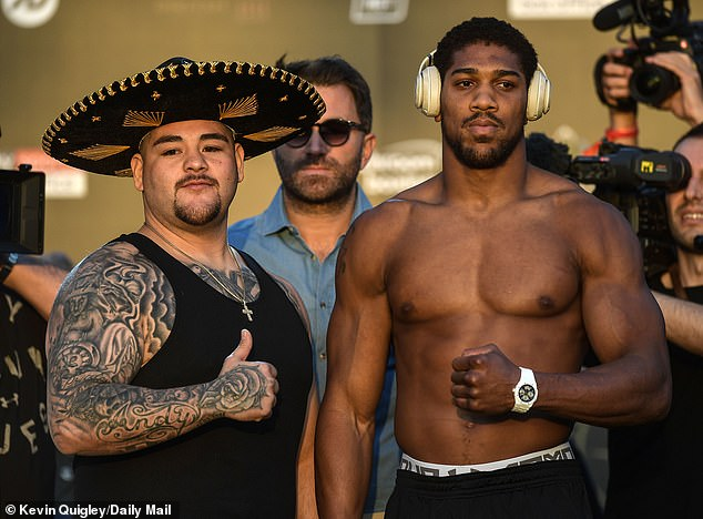 "Anthony Joshua Boasts ""No Fear In My Heart. No Fear In My Eyes"" As He Fights Andy Ruiz Tomorrow"