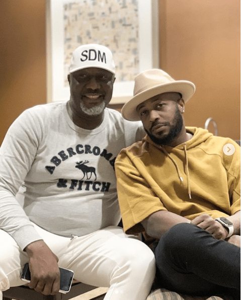 Tunde Ednut and Dino Melaye share cute photos together (SEE PICTURES)