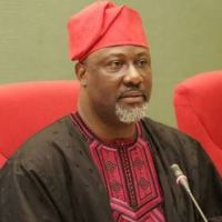 Senator Dino Melaye Gifts Some Members Of His Staff 55 Inch Television
