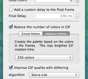 Reduce colors in GIF Brewery