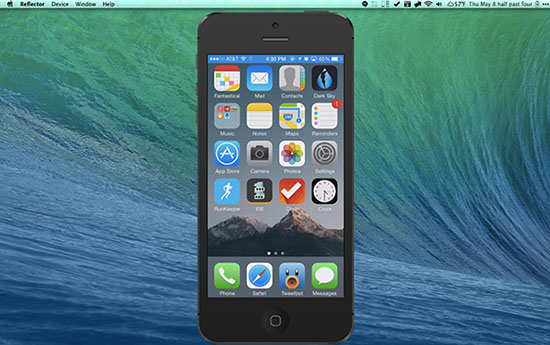 Reflector Airplay OS X iOS
