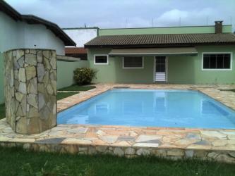 piscina casa simples casas piscinas lazer projetos modelos mineira utilizada pedra chao area foi