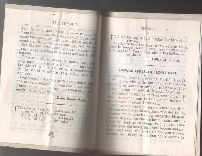 H.P. Lovecraft - Terrores Bibliográficos (1917-1959) | Noviembre Nocturno 51