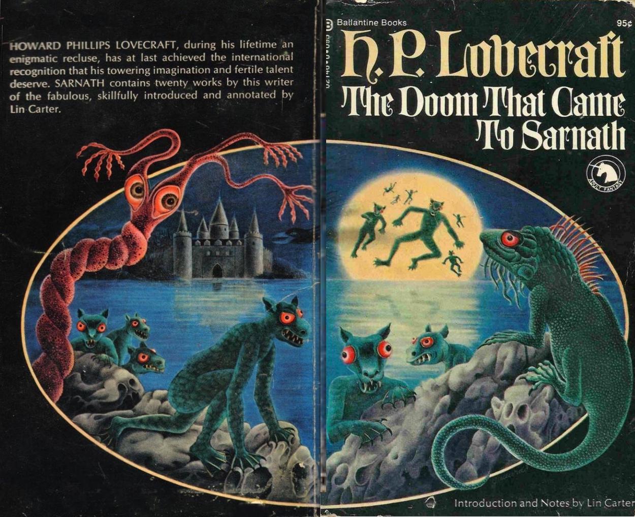 H.P. Lovecraft - Terrores Bibliográficos (1917-1959) | Noviembre Nocturno 9