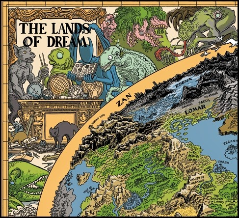 Las Tierras del Sueño de Jason Thompson (Detalle 1)