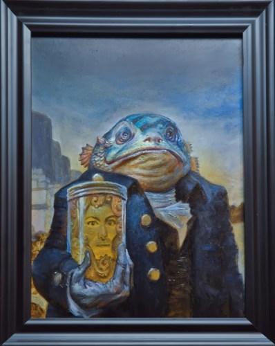 Las Montañas de la Locura - Un Tributo (pictórico) a los escritos de Lovecraft | Noviembre Nocturno 9