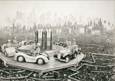 Round and Round de Laurie Lipton