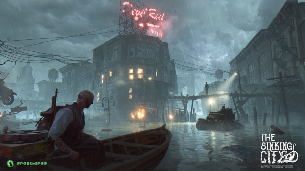 """The Sinking City"" de Frogwares Noviembte Nocturno Lovecraft Cthulhu"