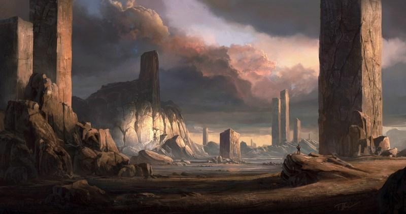 Pillars by merl1ncz noviembre nocturno