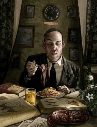 Ciryl Van Der Haeghen Lovecraft Noviembre Nocturno