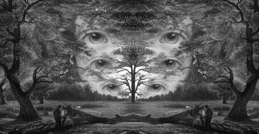 Virgil Finlay Visiones de la Noche Noviembre Nocturno