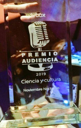 Premio de la audiencia de Ciencia y Cultura de Ivoox