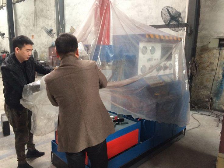 проверка испытательного стенда на заводе в Китае