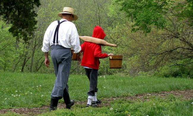 foto nonno con bimbo