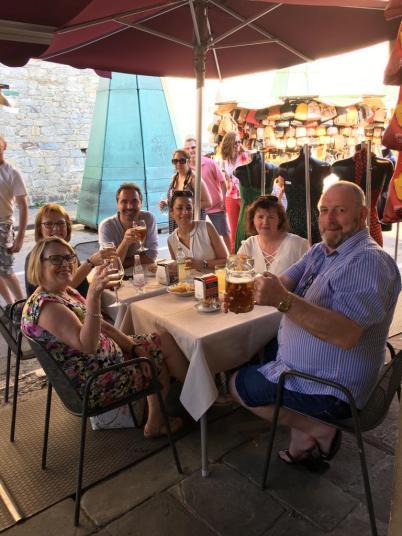 I nostri amici irlandesi in gita a Pisa in occasione della nostra Summer School, edizione 2019