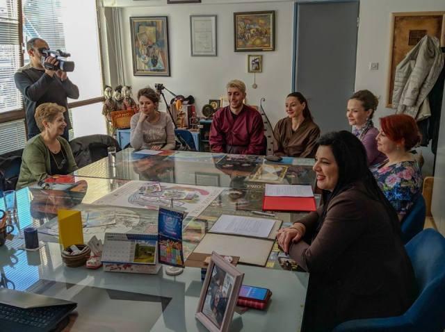 Potpisivanje Sporazuma Sporazum o saradnji između Narodnog univerziteta i Pozorišta lutaka