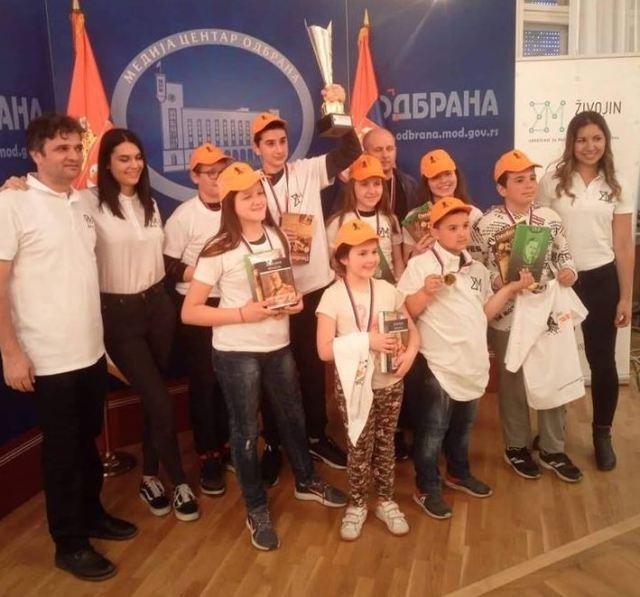 Mladi niški šahisti najbolji u Srbiji