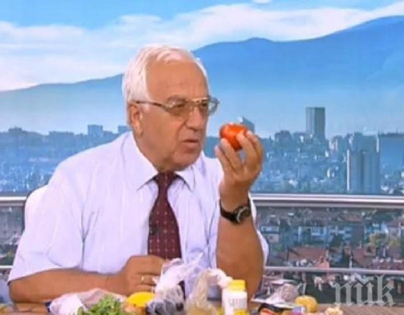 Проф. Мермерски: Маслини, домати и пъпеш за кръвно бетон през лятото!
