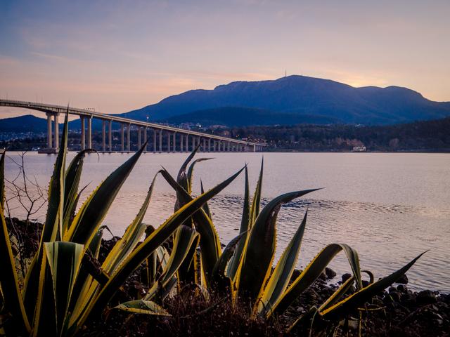 The Derwent River, Hobart, Tasmania