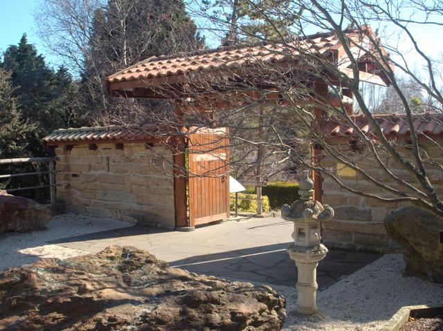 Entrance to the Japanese Garden, Royal Tasmanian Botanical Gardens