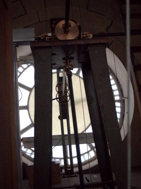 Inside the clocktower - any noir film-buff's dream