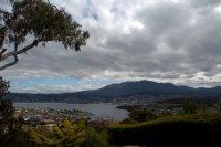 Kangaroo Bay, Bellerive and Sullivans Cove from the Waverley Flora Park