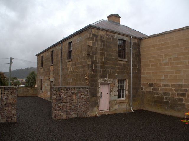 The Gaoler's Residence at Oatlands. Most of the gaol itself was demolished in the 1930s