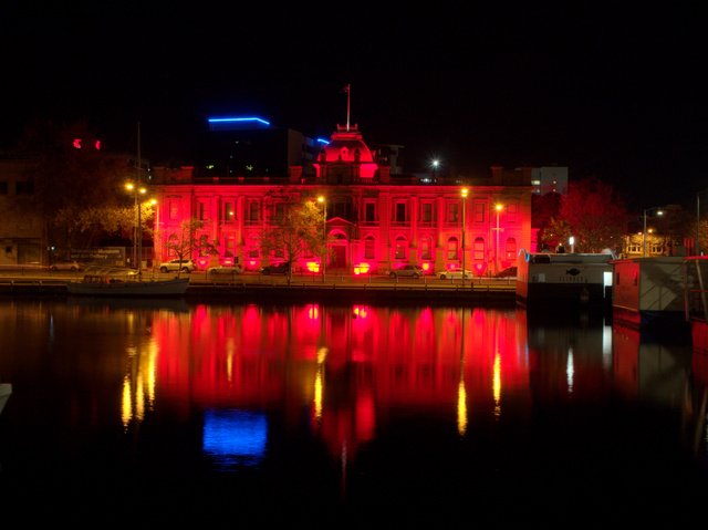 TMAG's administrative wing was once Hobart's customs house, in close proximity to the port.