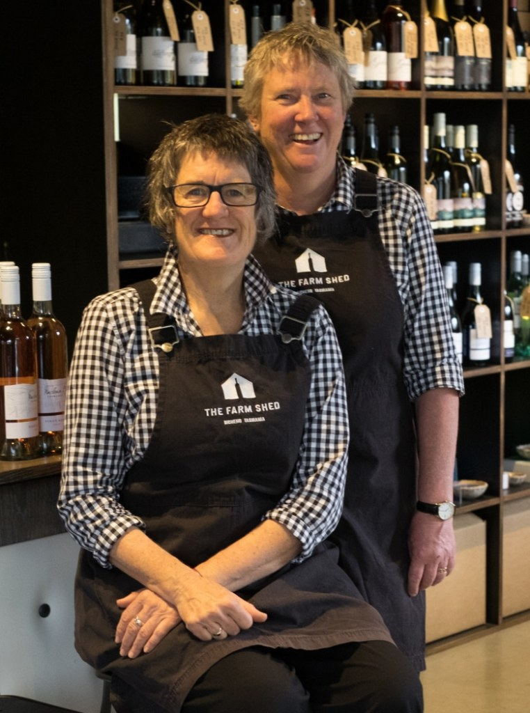 Subi and Helen, dear friends and proprietors of The Farm Shed East Coast Wine Centre