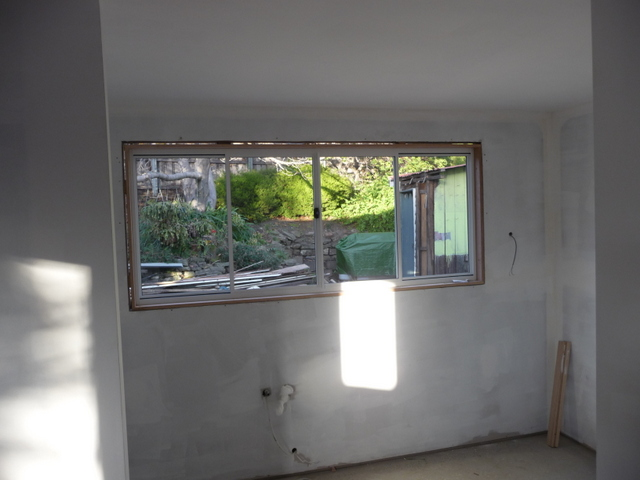New kitchen - and what a view