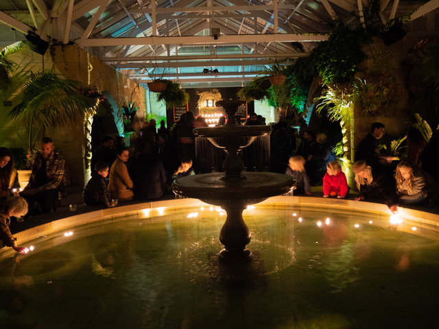 The Conservatory during Dark Path