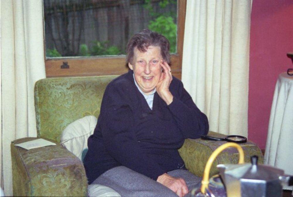 My grandmother celebrating her 80th birthday