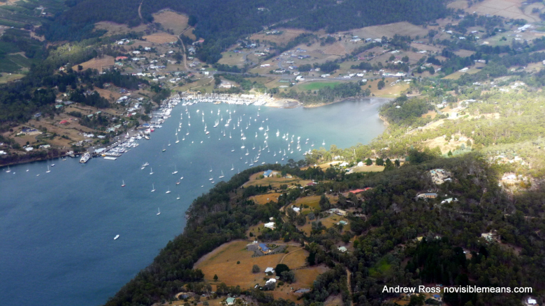 Kettering is one of the many calm coves on the D'Entrecasteaux Channel, and is a popular base for yachts and sailing.