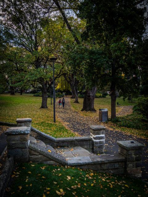 Saint Davids Park, Hobart in Autumn