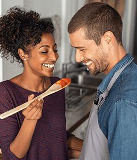 Receita de Penne ao Pomodoro para um jantar à dois