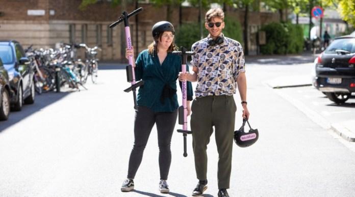 Depois das bicicletas e patinetes elétricos compartilhados, startup sueca investe em pula-pula.