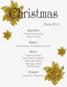 menu dinner christmas planning mom mart easy picshunger watering mouth